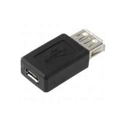 Adaptador USB Hembra a MIni...